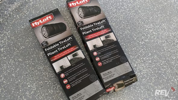 HyLoft Tire Storage Racks!