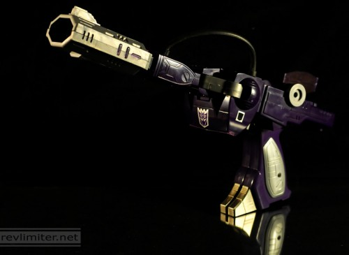 Shockwave in space cannon mode.