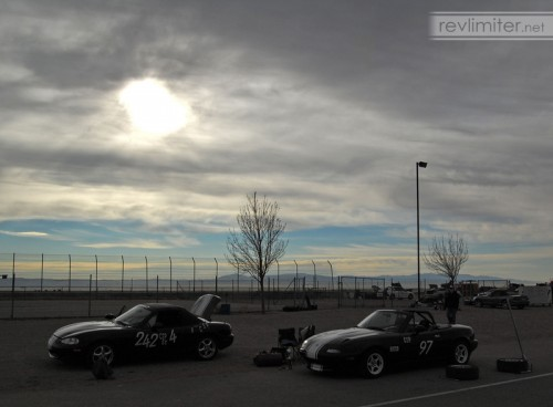 2005: Sunrise at an autocross