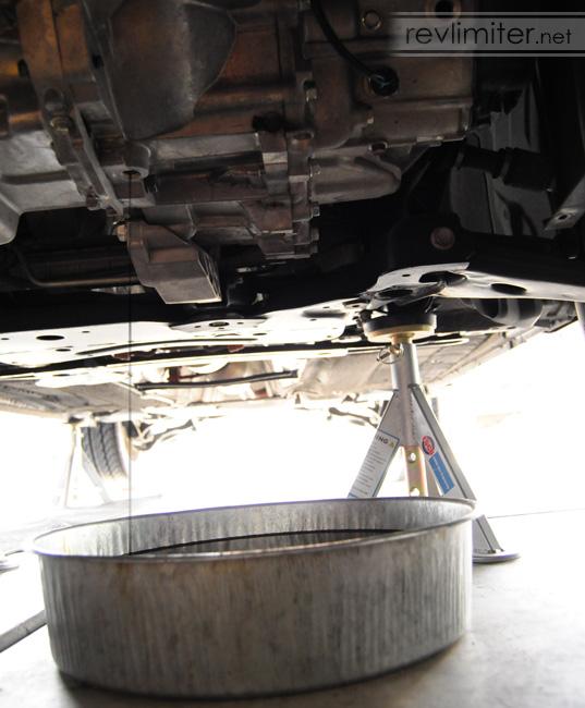 Mazda3 Manual Transmission Fluid Change — revlimiter net