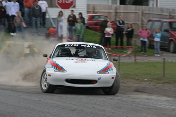 The 2008 Targa racer - image courtesy of Flyin Miata