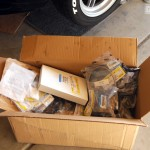 A big box of parts from Mazdacomp.
