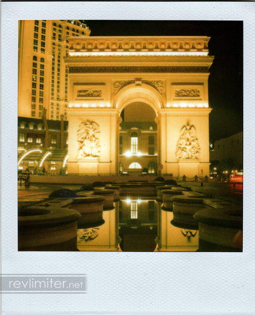 The Mini Arc de Triomphe. 3 cabs tried to run over me while I shot this.
