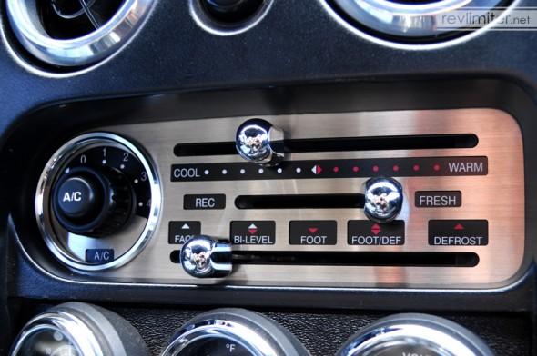 Sharka's new HVAC panel.