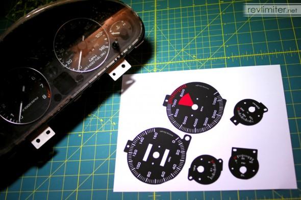 F1 gauges for Lazarus