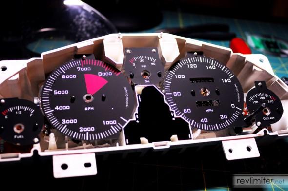 F1 gauges installed.