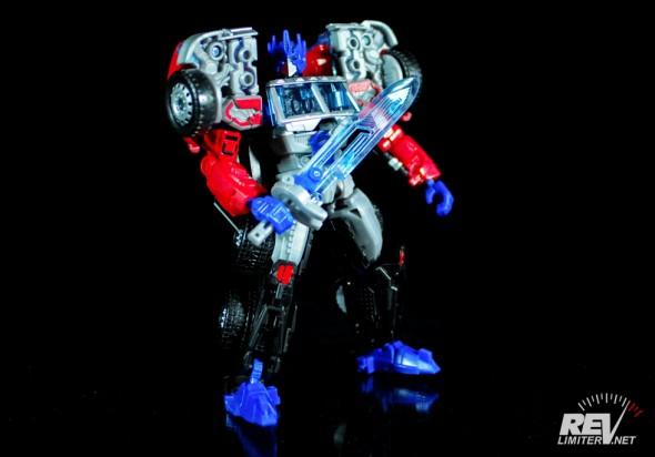 Transformers United Laser Optimus Prime