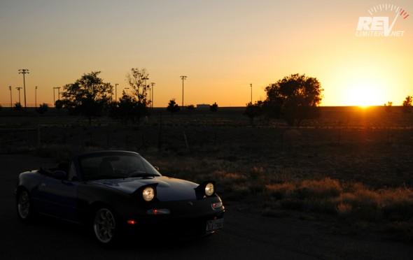 A sunset cruise.