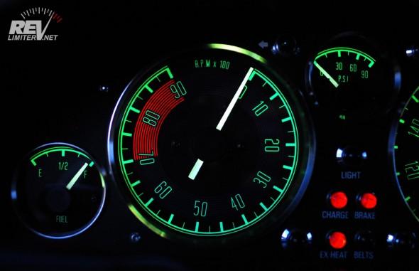 OEM Green backlighting