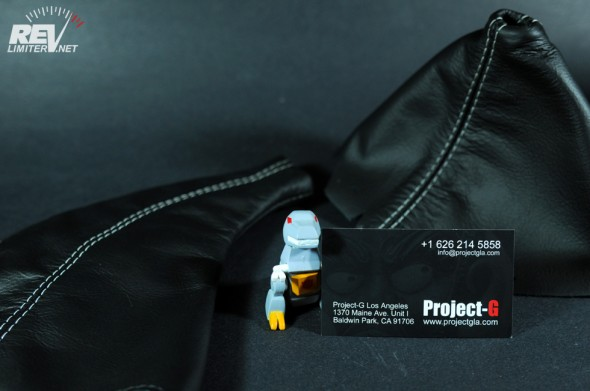 Project-G gets into leather.