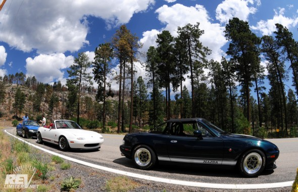 Arrival in Los Alamos.
