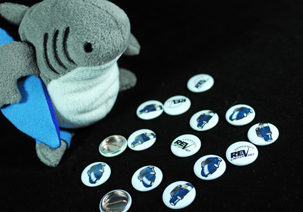 Sharka's button collection.