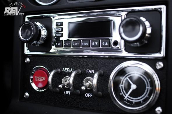 The radio area.
