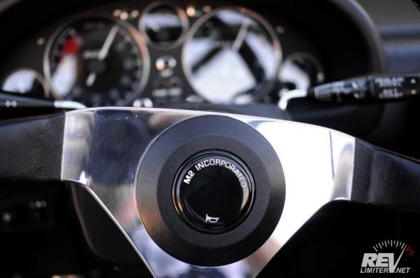M2-1001 steering wheel
