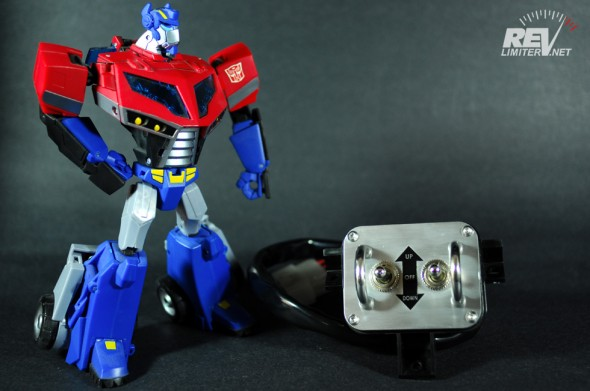 TF Animated Prime checks it out.