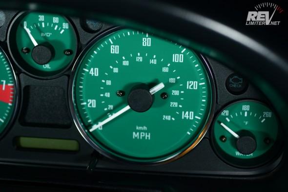 GT-40 speedometer