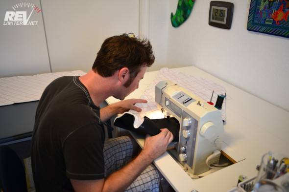 Me. Sewing.