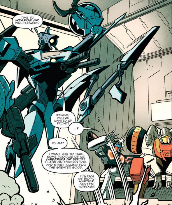 Whirl is a maniac.
