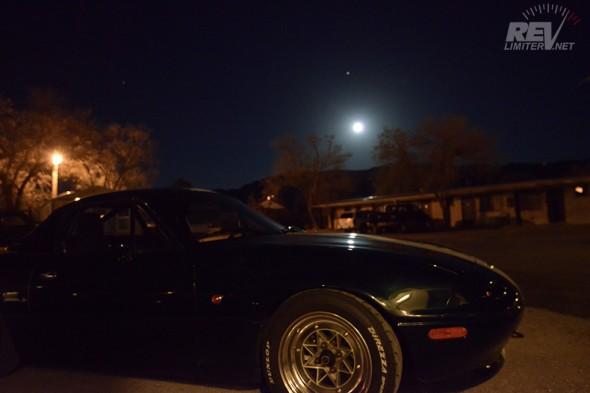 Moonrise in Magdalena