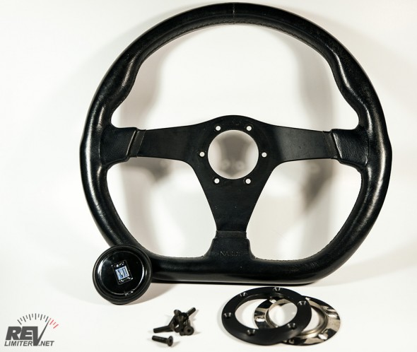 New-to-me Nardi steering wheel.
