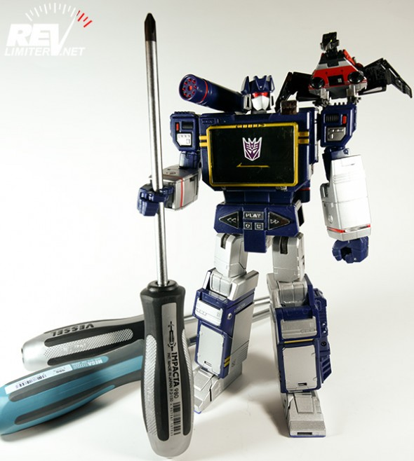 Soundwave demanded more.
