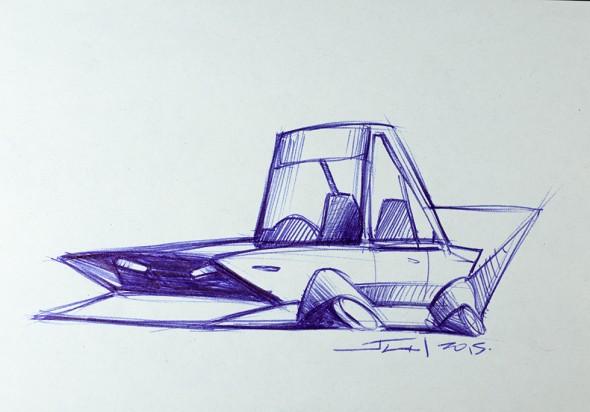 An original Imai sketch.