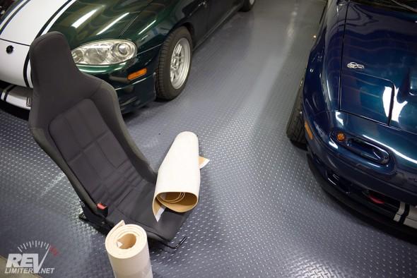 Elise seats and Shocktec foam