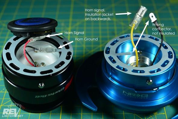 NRG horn ring - wheel side