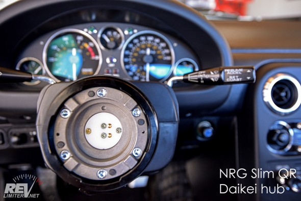 NRG receiver installed.