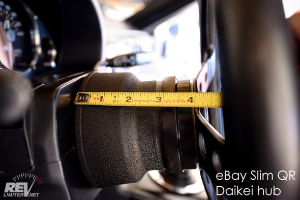 Hub + QR thickness