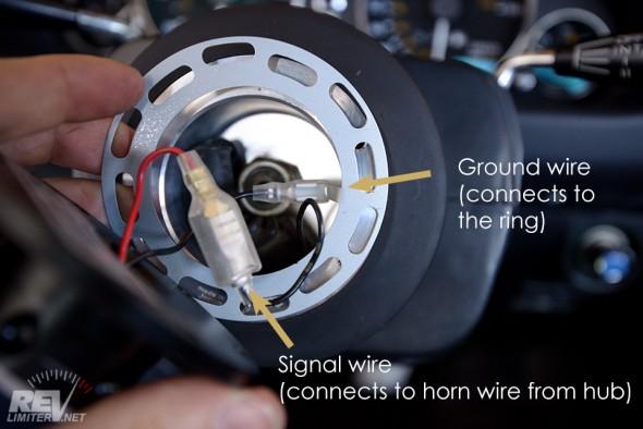 WB Rapfix2 horn wiring