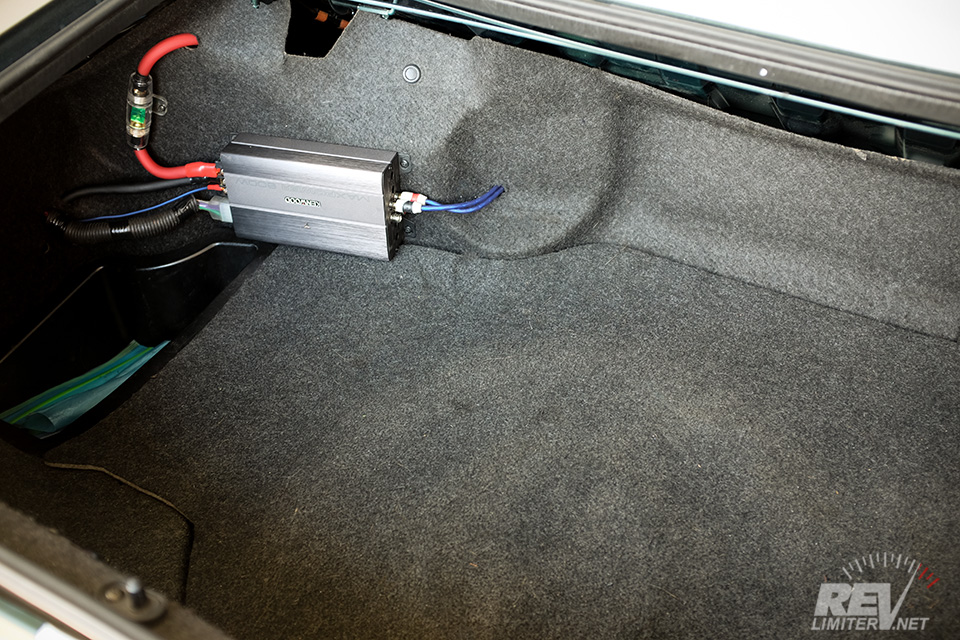 Footwell Subwoofer Install  U2014 Revlimiter Net