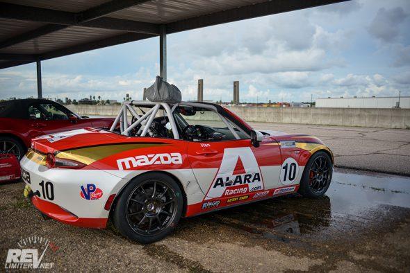MX5 cup car.