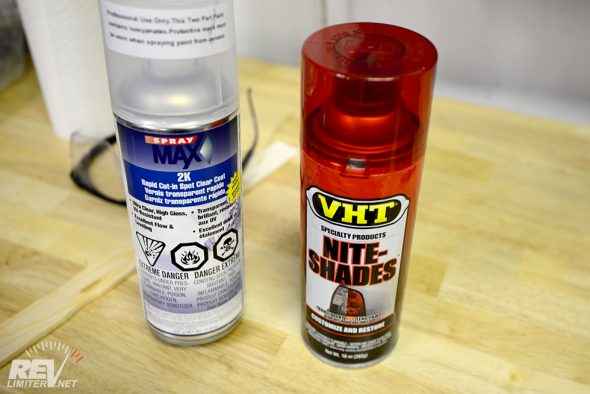 VHT Nite-Shades and 2 part clear.