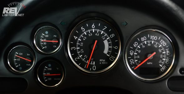 Warbird gauges in a non-Miata cluster!