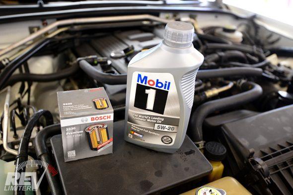 NC Miata oil and filter.
