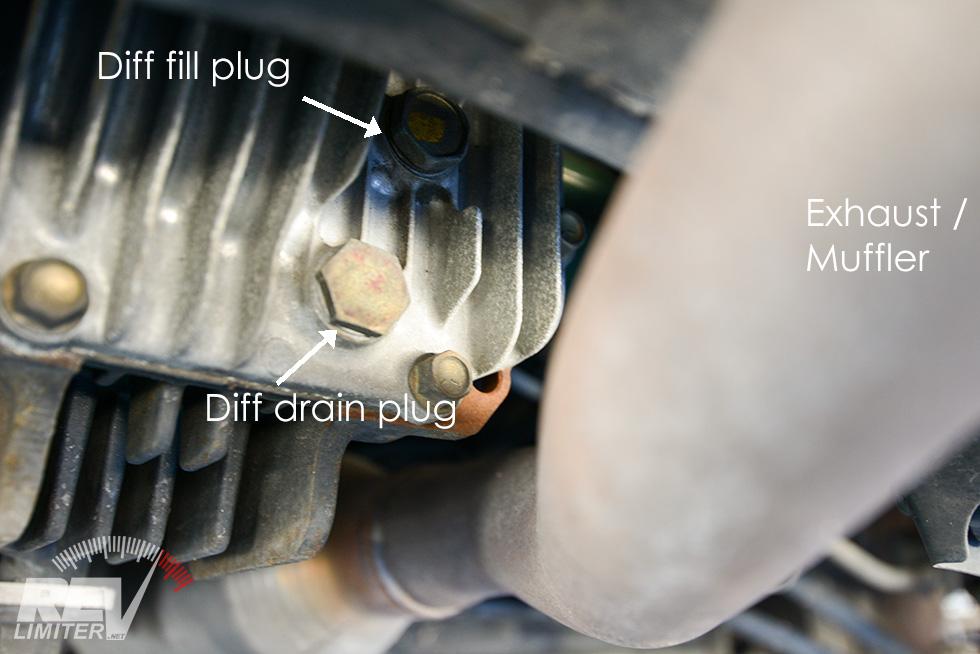 NC MX-5 Miata (2006-2015) Oil / Trans / Diff Fluid Change