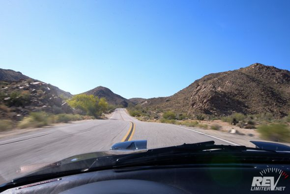 Miles of open road.