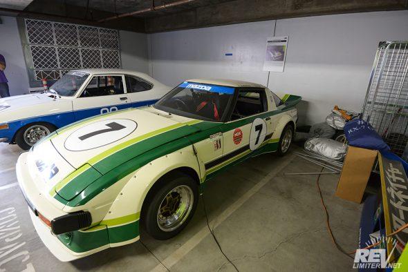 """1979 RX-7 """"Daytona"""" car."""