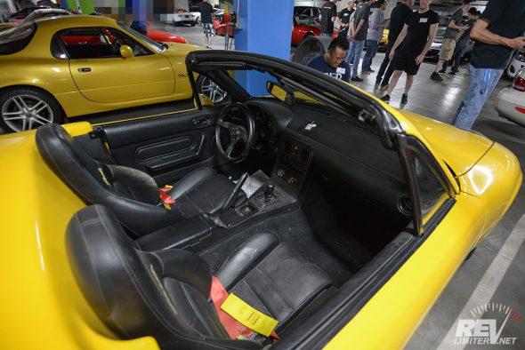 Pre-production interior.