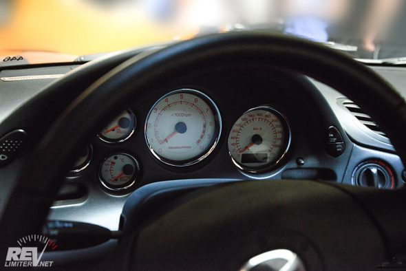 Mazdaspeed gauges