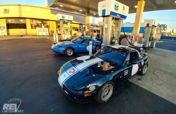 Golden Hour Gas Stop