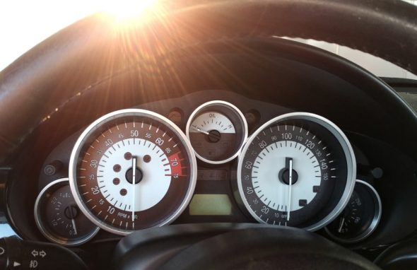 Stormy's new gauges.