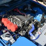 Blue Jay's engine.