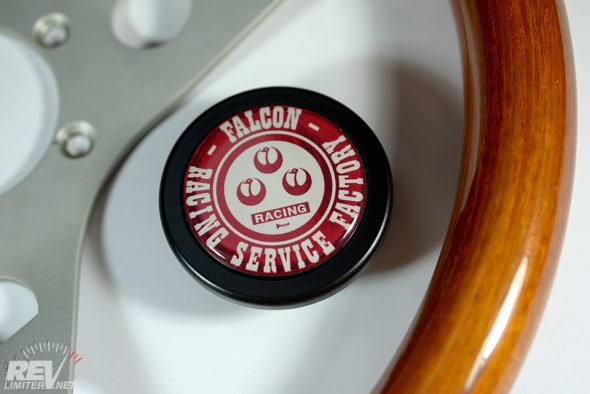 Custom horn button