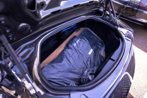 Floor mats in the trunk?