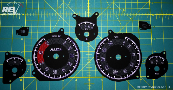 revlimiter Gauges ready to be installed