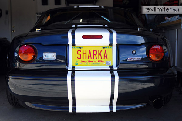They Just Into The Fibergl With Included Sheet Metal S And Plug Right Stock Miata Tail Light Harness