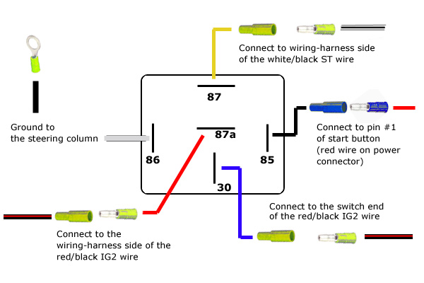 results for 5 pin relay wiring schematic wire schematic diagram \u2022 5 post relay wiring fan revlimiter net s2000 starter button 98 05 version rh revlimiter net 5 post relay wiring diagram 5 post relay wiring diagram