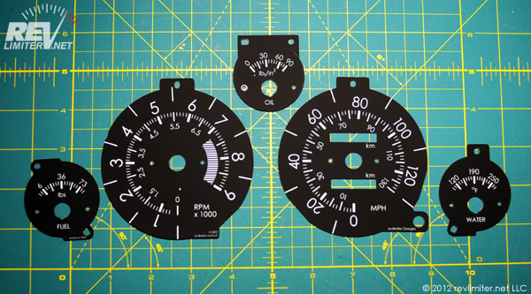 Warbird gauge faces